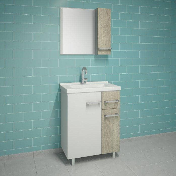 Conjunto de Móveis para Banheiro